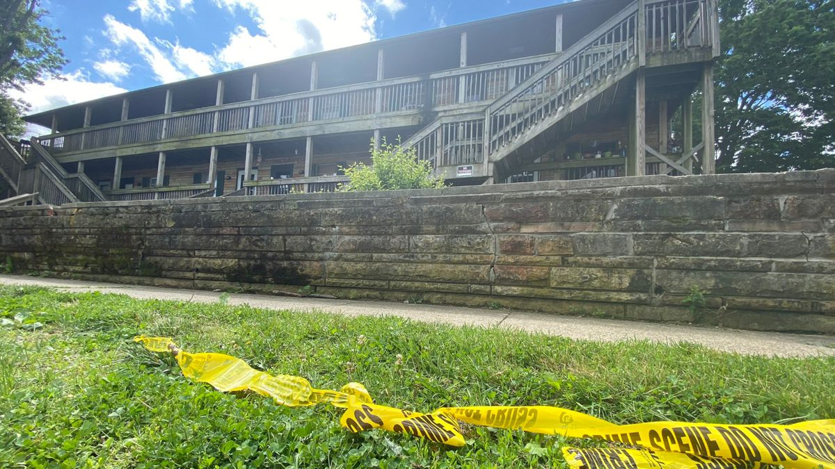 The two victims reportedly lived next to each other. (Photo: WKYT/Olivia Russell)