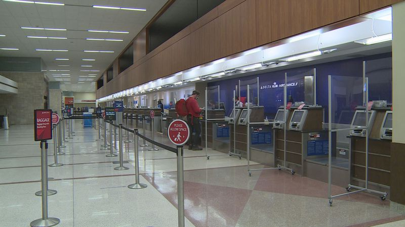 Travelers at Blue Grass Airport said they were able to social distance on their flight because...