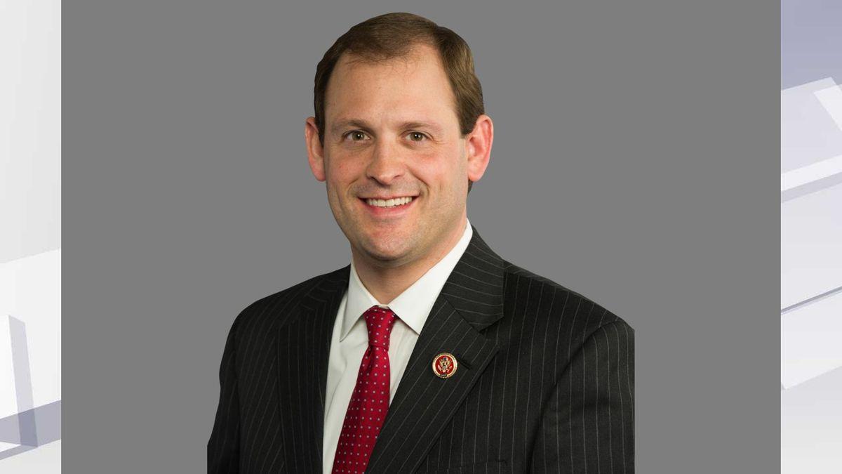 Andy Barr headshot, as US Representative of Kentucky. (AP)