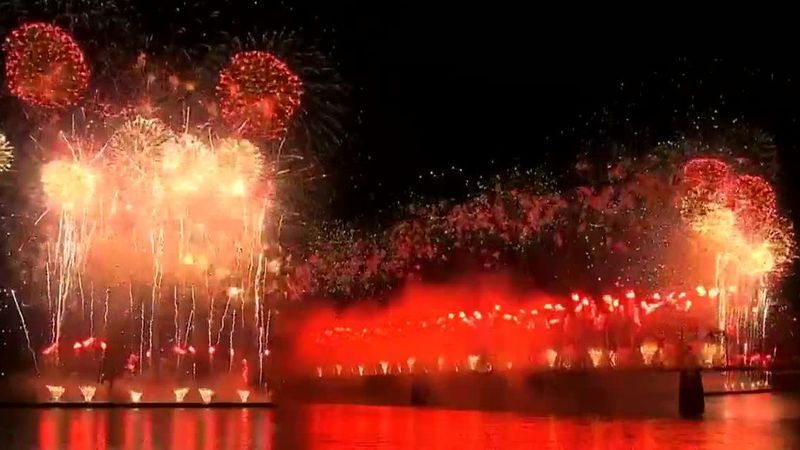 File image of Thunder Over Louisville fireworks.