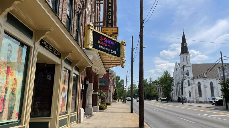 After being closed the past year, the Lexington Opera House will open for in-person...