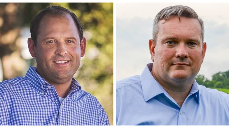 Republican Rep. Andy Barr and Democratic challenger Josh Hicks