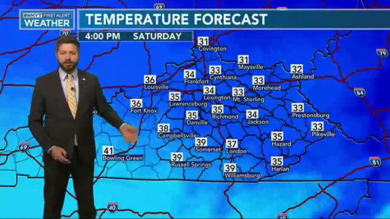 Adam Burniston's Forecast | Active weather to return again next week