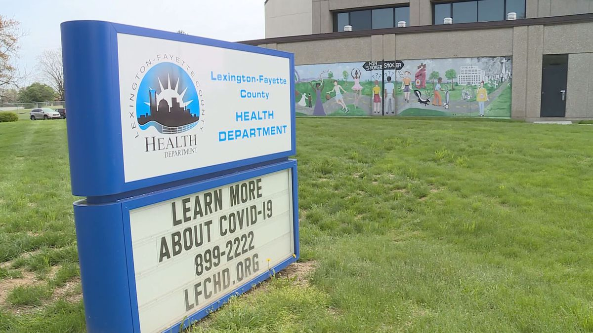 The Lexington-Fayette County Health Department has reported about 30 new COVID-19 cases a day...