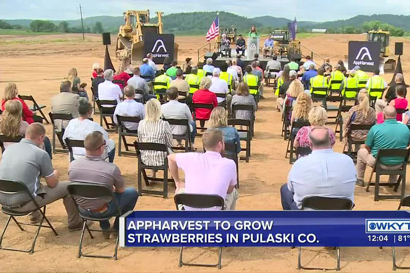 AppHarvest breaks ground on new facility to produce strawberries