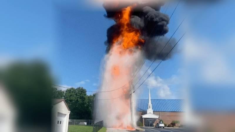 Transformer explodes in Ashland