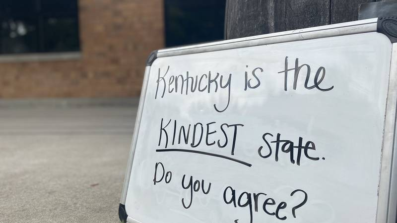 Kentucky ranked first in a survey.