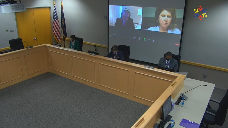 FCPS board members held a moment of silence for three students who died this year.