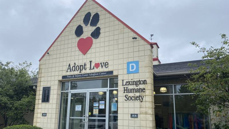 If you were hoping to go to the Lexington Humane Society on Wednesday, the doors were closed...