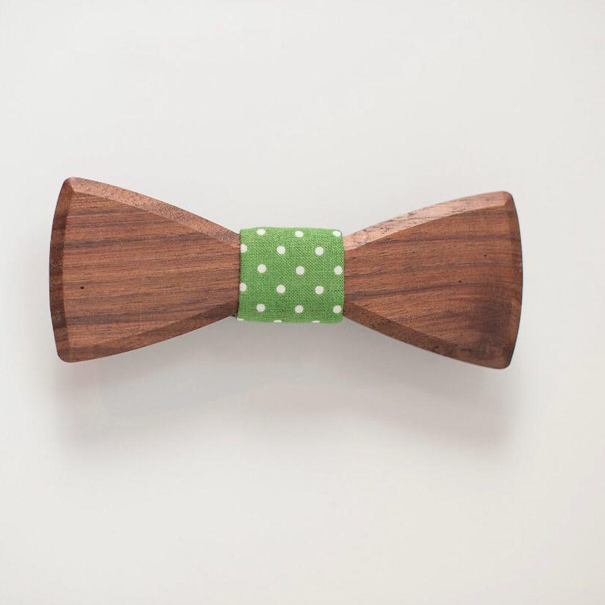 Music Stave White Fancy Silk Bow Tie