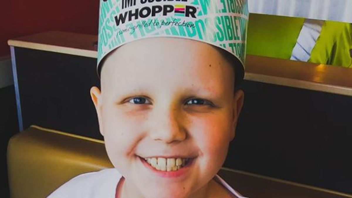 """Carter Willett, nicknamed """"Courageous Carter,"""" asked for cards for his tenth birthday. (Photo: WAVE/Jeremy Willett)"""