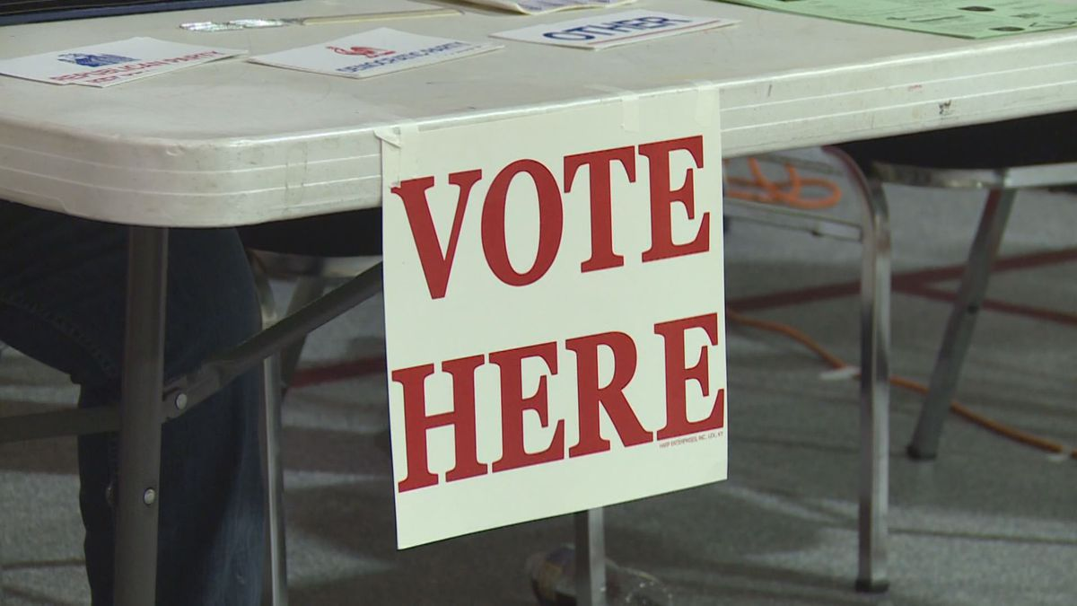 Senate Bill 2 would require people to show a photo ID before voting in Kentucky. (WKYT)
