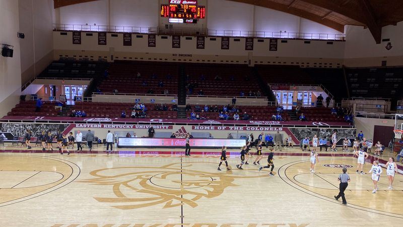 "Thousands of empty seats go unused at the All ""A"" state tourney due to Covid and the weather."