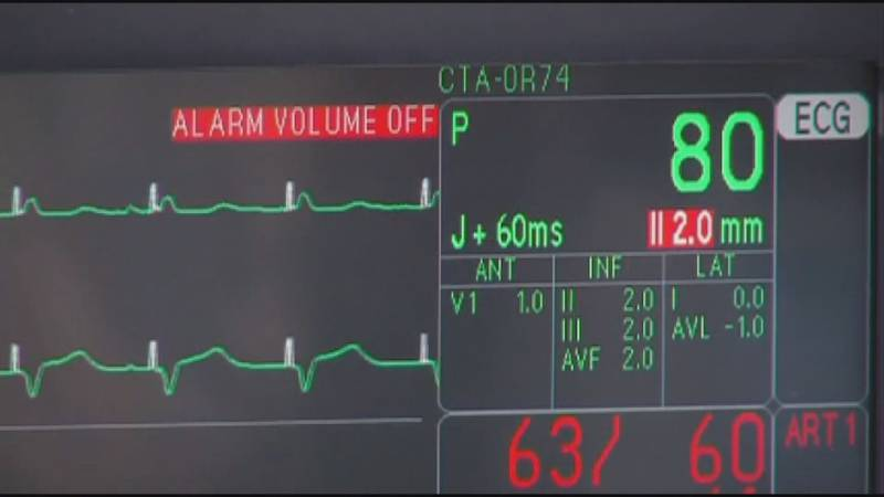 A stock image of a monitor showing a patient's vital signs.