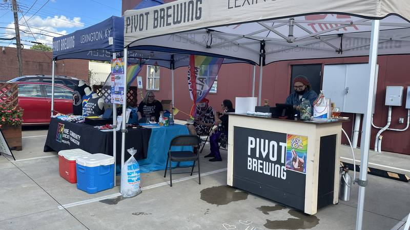 A weekend-long pride celebration held at Pivot Brewing.