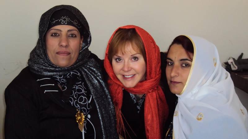 Deborah Alexander spent 10 years in Afghanistan working as an American diplomat.