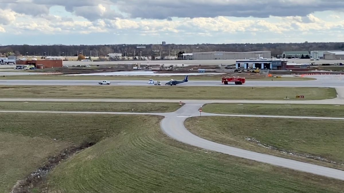 The pilot was the only person on board the aircraft. (Photo: WKYT)
