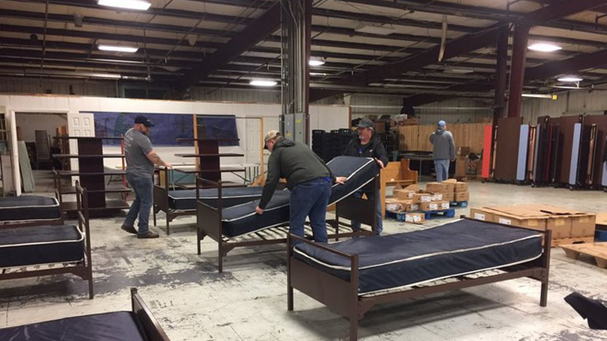 Cedar Ridge Ministries is expected to play a very important in the county's relief effort.  (WKYT)