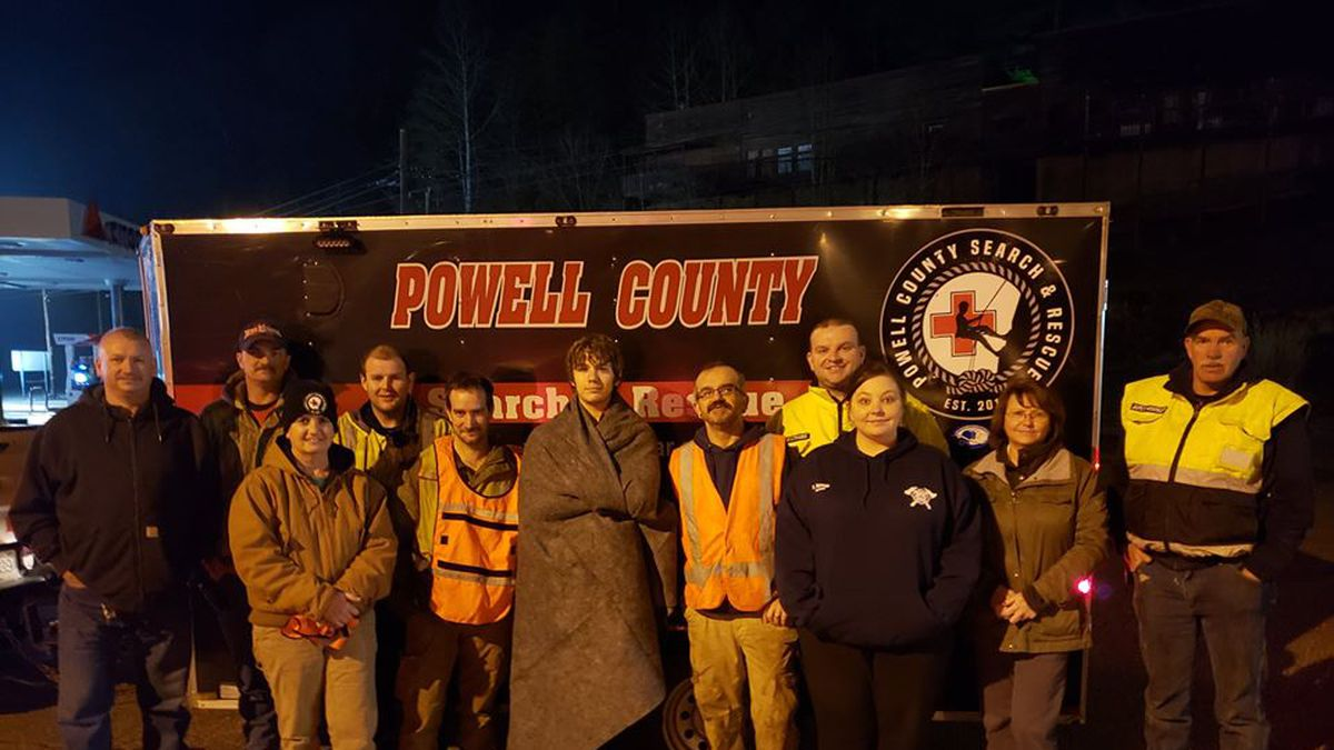Powell County Search and Rescue say the hiker, Christian Jones, got lost in the Red River Gorge Tuesday night. (Powell County Search & Rescue Facebook)