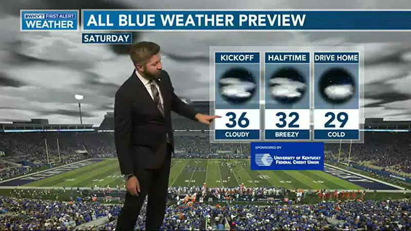 WATCH | All Blue Weather Preview