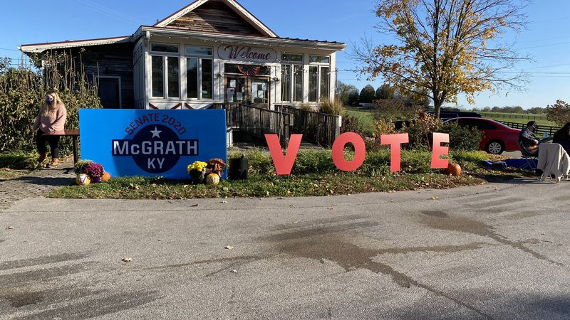 In the past few days, McGrath has been energizing supporters and trying to win others by...