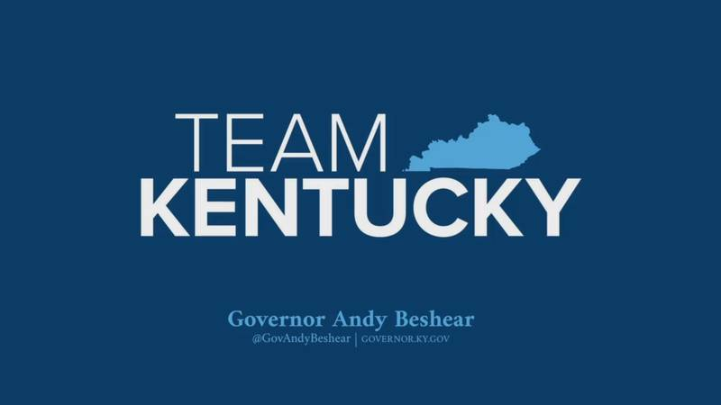 Governor Andy Beshear holds a news conference to give an update on the COVID-19 situation in...