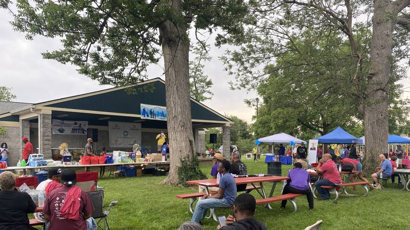The 17th annual celebration was held at Douglass Park.
