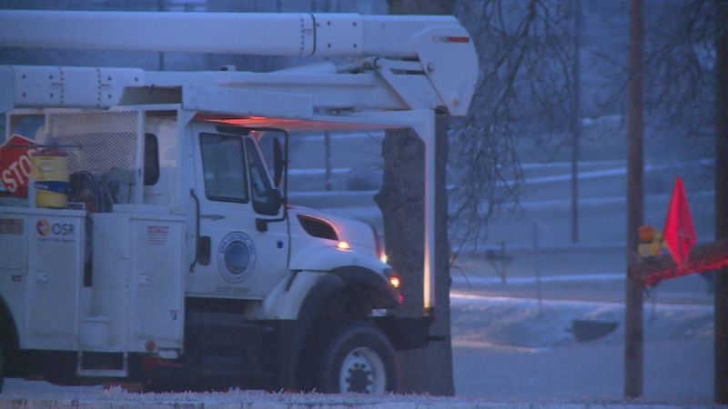 Crews are out trying to return power to homes, especially in eastern parts of Kentucky.