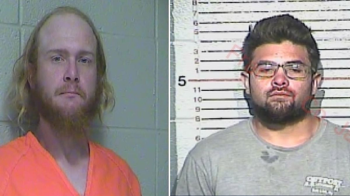Clinton Peterson pictured on the left. Brendan Camous pictured on the right.