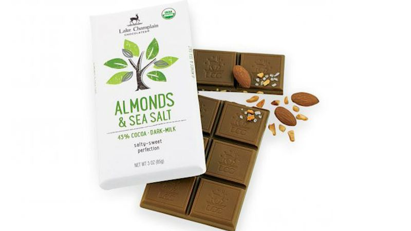 Lake Champlain Chocolates said a consumer reported finding brittle pieces of plastic inside...