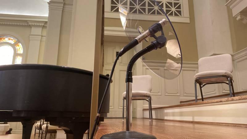 The choir First United Methodist Church Downtown is taking a hiatus due to rising COVID cases.
