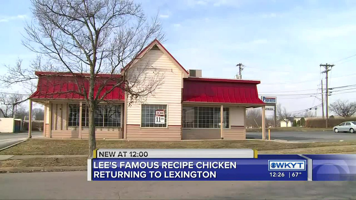 Lee's Famous Recipe chicken returning to Lexington