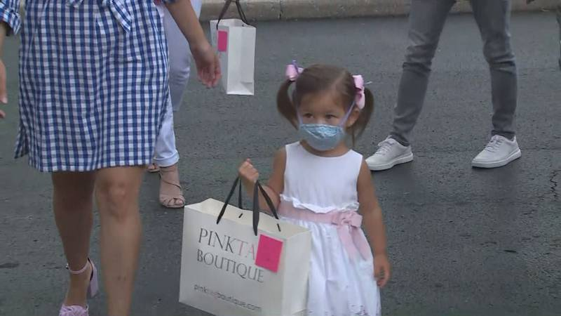 The Pink Tag Boutique has donated masks in three states so far, Indiana, Tennessee, and now...