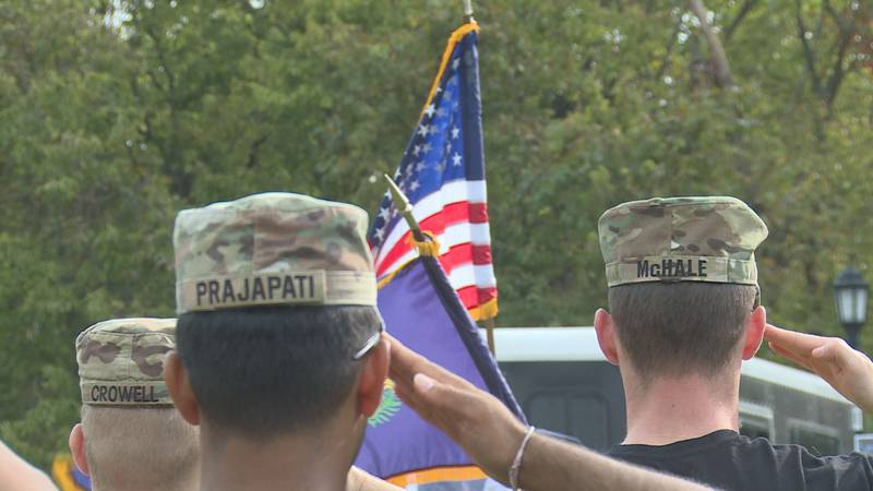 The event honored those who died on the Mogadishu Mile.