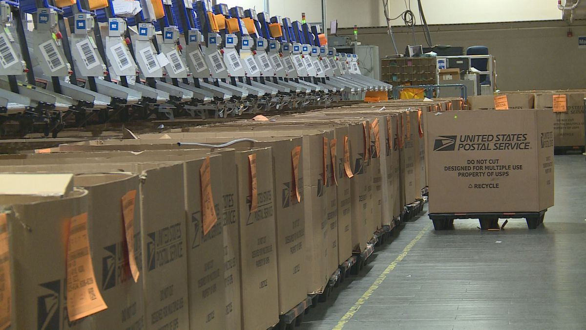 Nearly 13 billion total pieces of mail and packages are expected to be processed and delivered this holiday season, from Thanksgiving to New Year's Day.