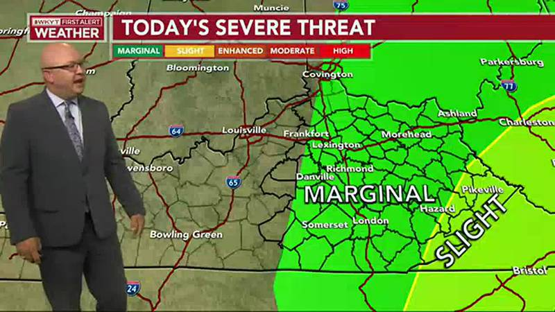 Strong to severe storms