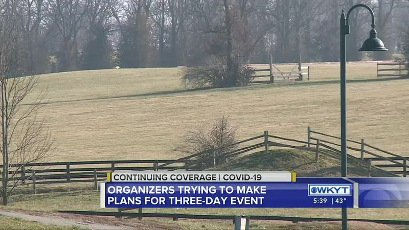 Organizers trying to make plans for Land Rover Kentucky Three Day Event amid pandemic
