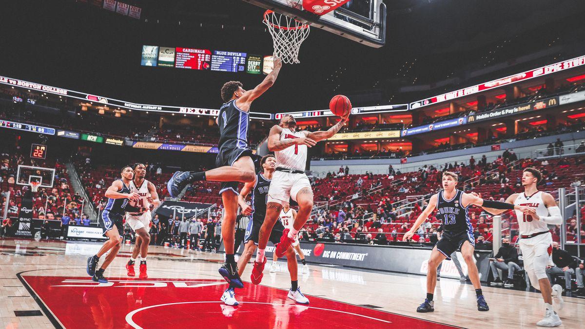Jones, Louisville hand Duke third straight loss 70-65