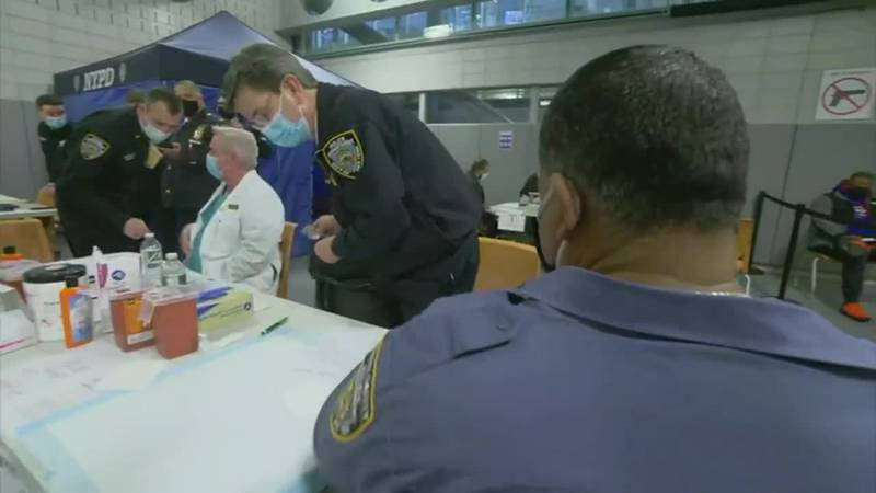New York City will require police officers, firefighters and other municipal workers to be...