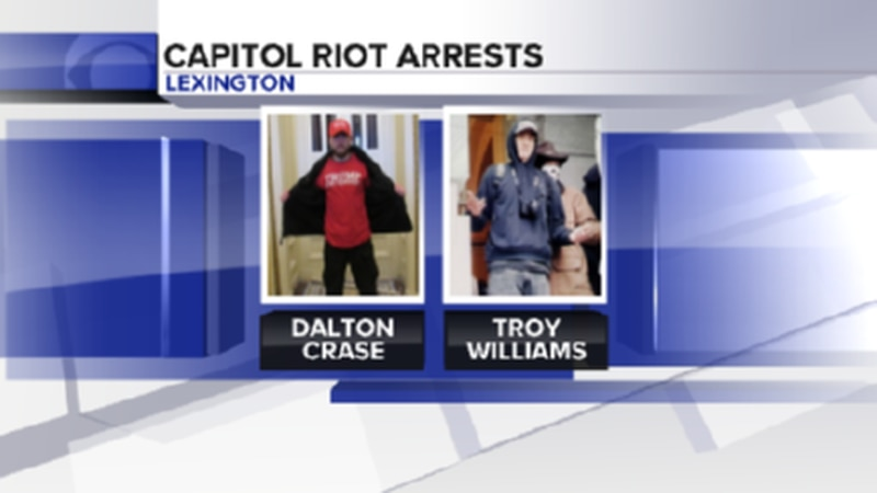 According to a tweet from FBI Louisville, Dalton Ray Crase and Troy Dylan Williams were...