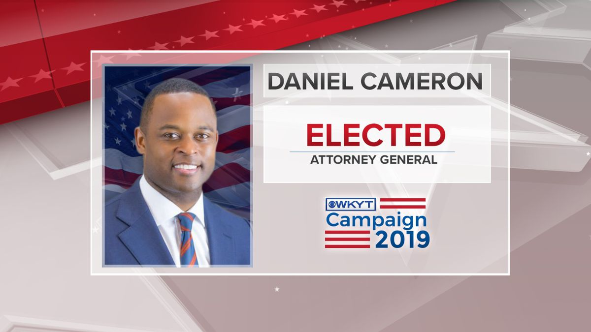 Daniel Cameron engaged in a contentious race with former Attorney General Greg Stumbo. (Photo: WKYT)