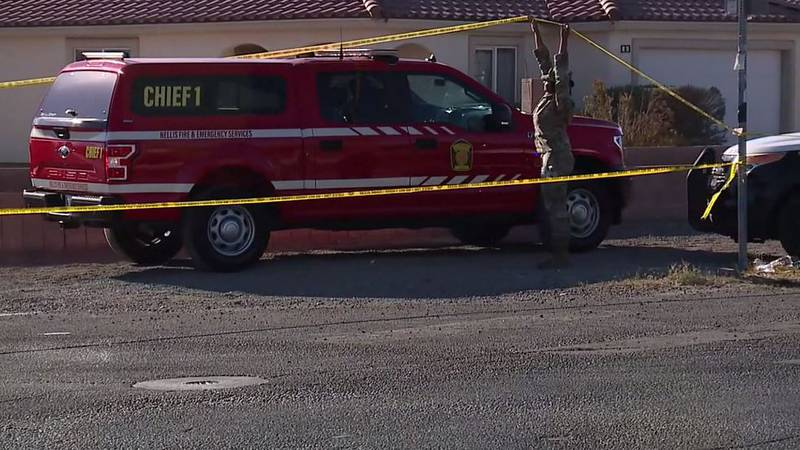 A pilot has died after Nellis Air Force Base officials say an aircraft operated by a military...