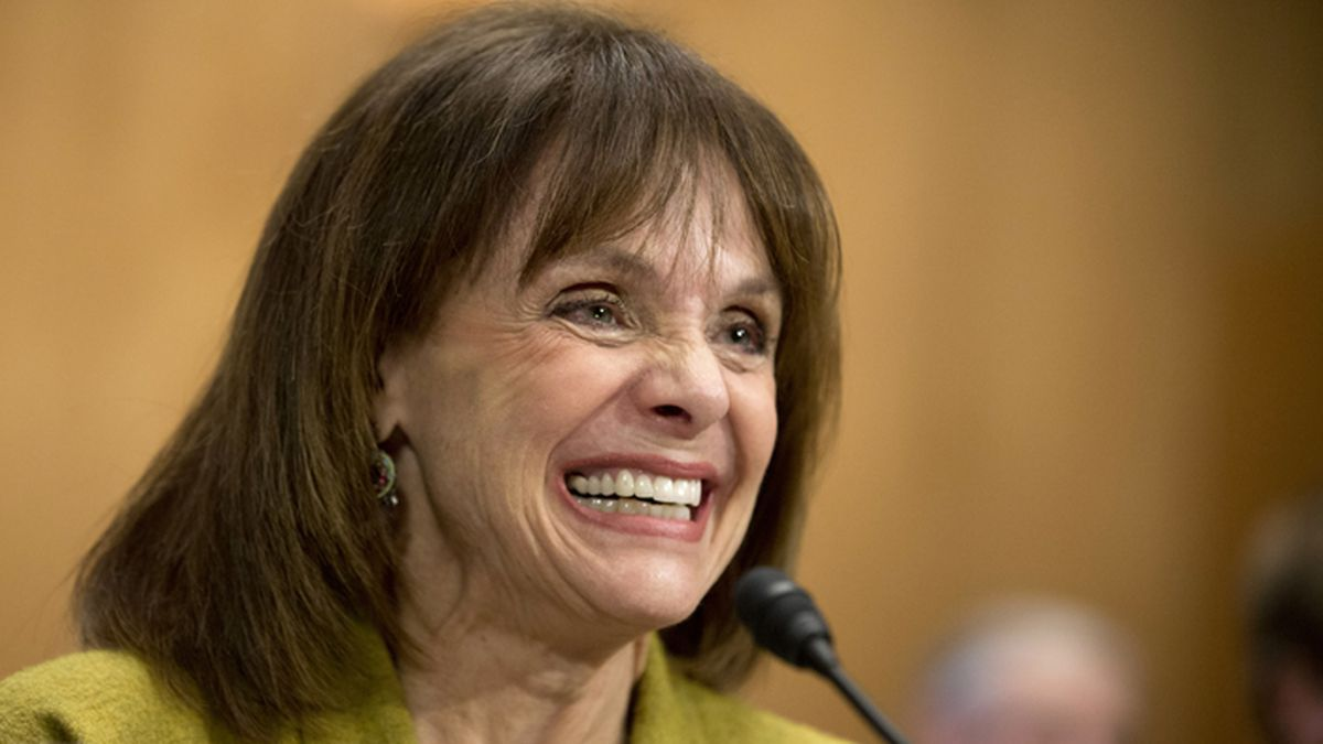 FILE - In this May 7, 2014 file photo, actress and cancer survivor Valerie Harper, testifies...