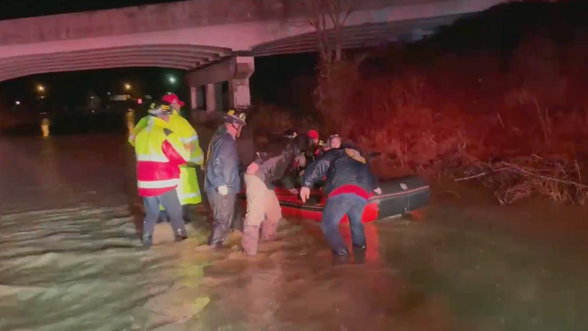 Water rescue in Laurel County