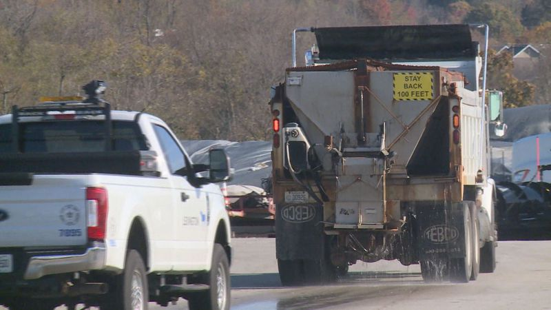 The Lexington Streets and Roads Department director said they are prepared for the winter...