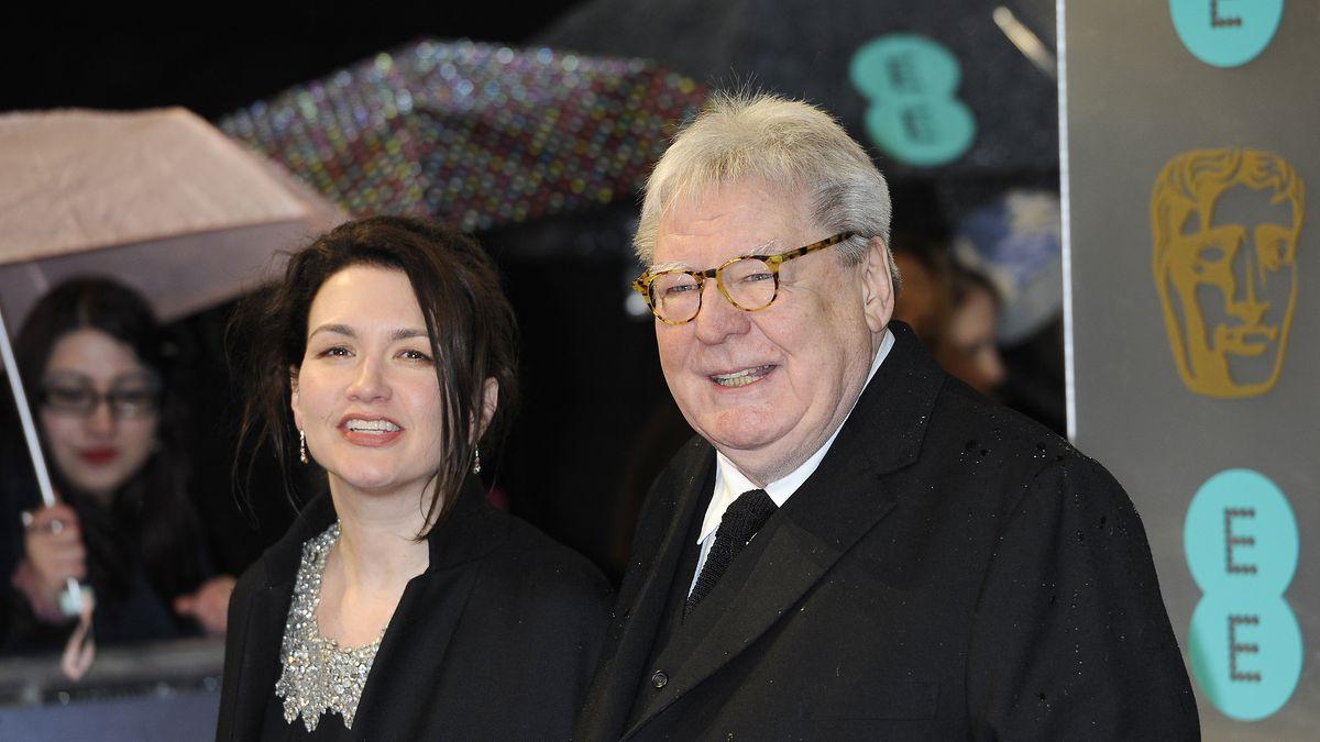 Lisa Parker, left, and director Alan Parker arrive for the BAFTA Film Awards at the Royal Opera...