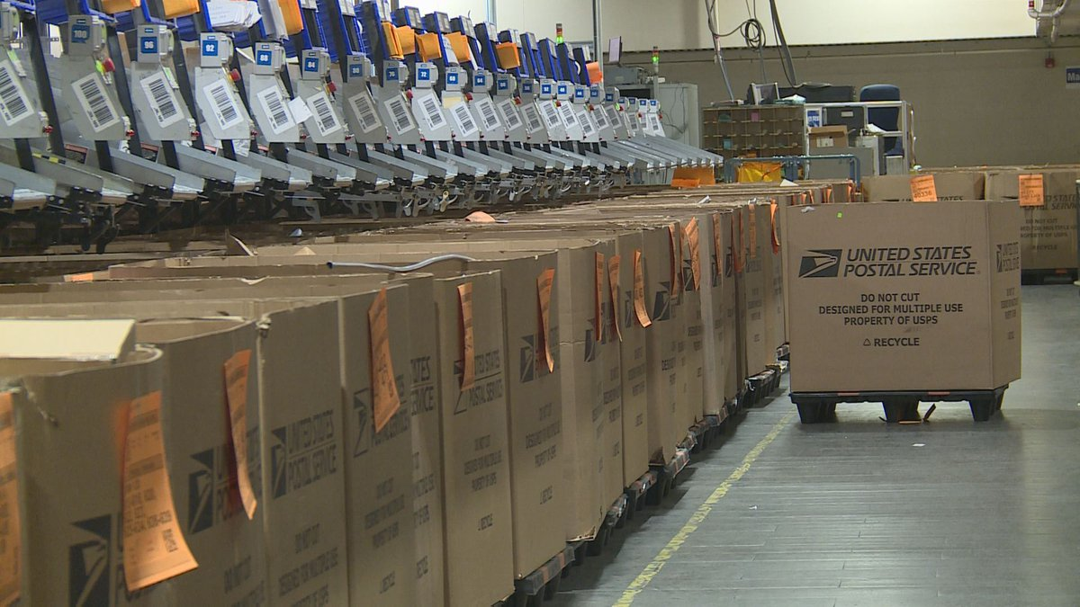 Nearly 13 billion total pieces of mail and packages are expected to be processed and delivered...