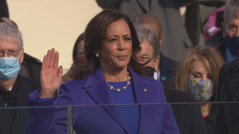 Kamala Harris is the first Black woman and the first South Asian American to hold the position.