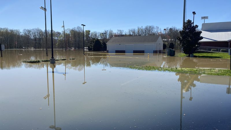 Heavy weekend rain caused the Cumberland River to swell past its banks. From Saturday morning...