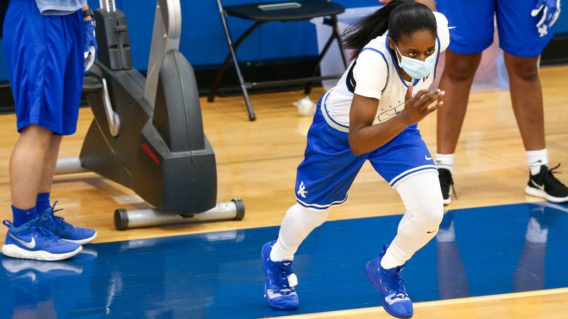 Chasity Patterson.     WBB Practice.  Photo by Eddie Justice   UK Athletics